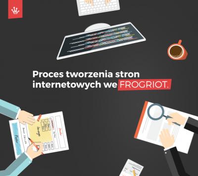 Proces tworzenia stron internetowych we FROGRIOT