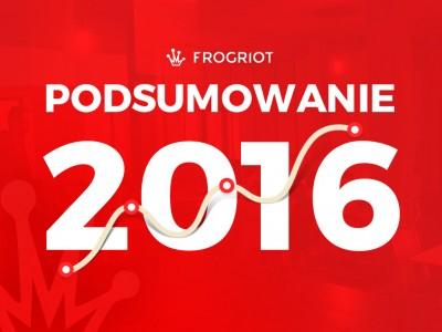 Podsumowanie roku 2016 we Frogriot