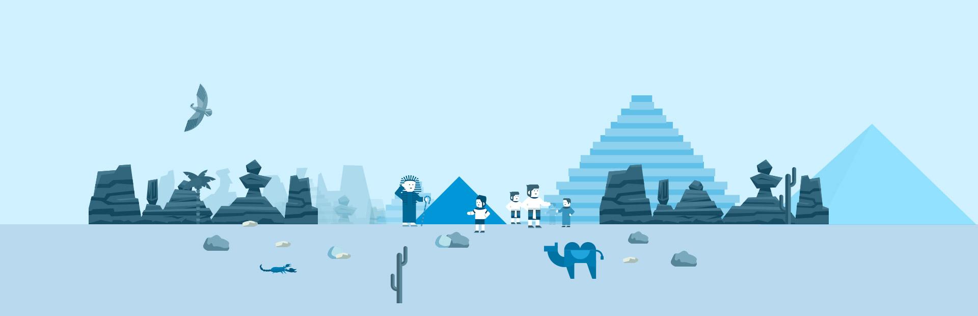Faraon SVG Animation