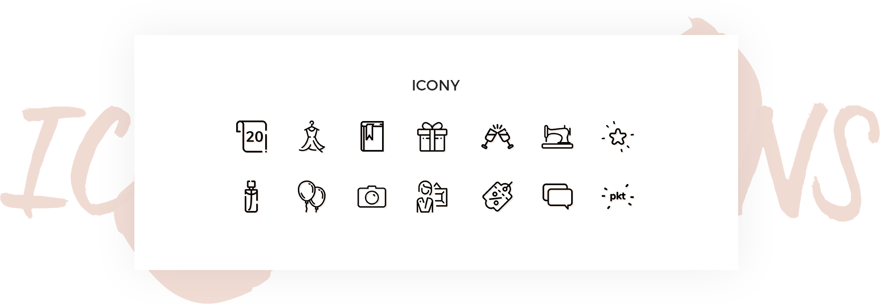 indywidualne ikony orsay 20 lat